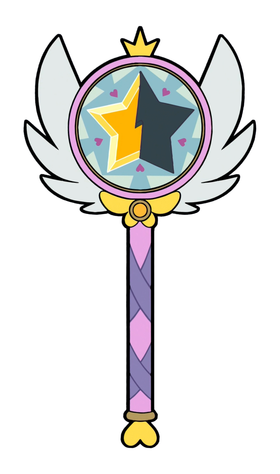 Magic book and wand clipart banner transparent Season 2 Wand by Star-Butterfly | YOOOLO | Pinterest | Star ... banner transparent