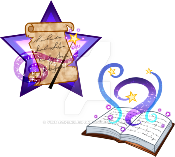 Open book with magic clipart clip freeuse library Magic Cutie Marks adoptables CLOSED by KingPhantasya on DeviantArt clip freeuse library