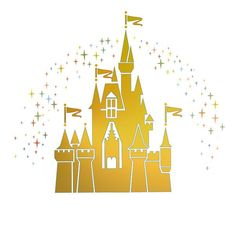 Magic kingdom castle outline clipart royalty free library Cinderella's Castle Papercut by CartaVitaStudio on Etsy | I Heart ... royalty free library