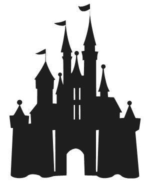 Magic kingdom castle outline clipart clipart free library 17 Best ideas about Disney Castle Silhouette on Pinterest | Disney ... clipart free library