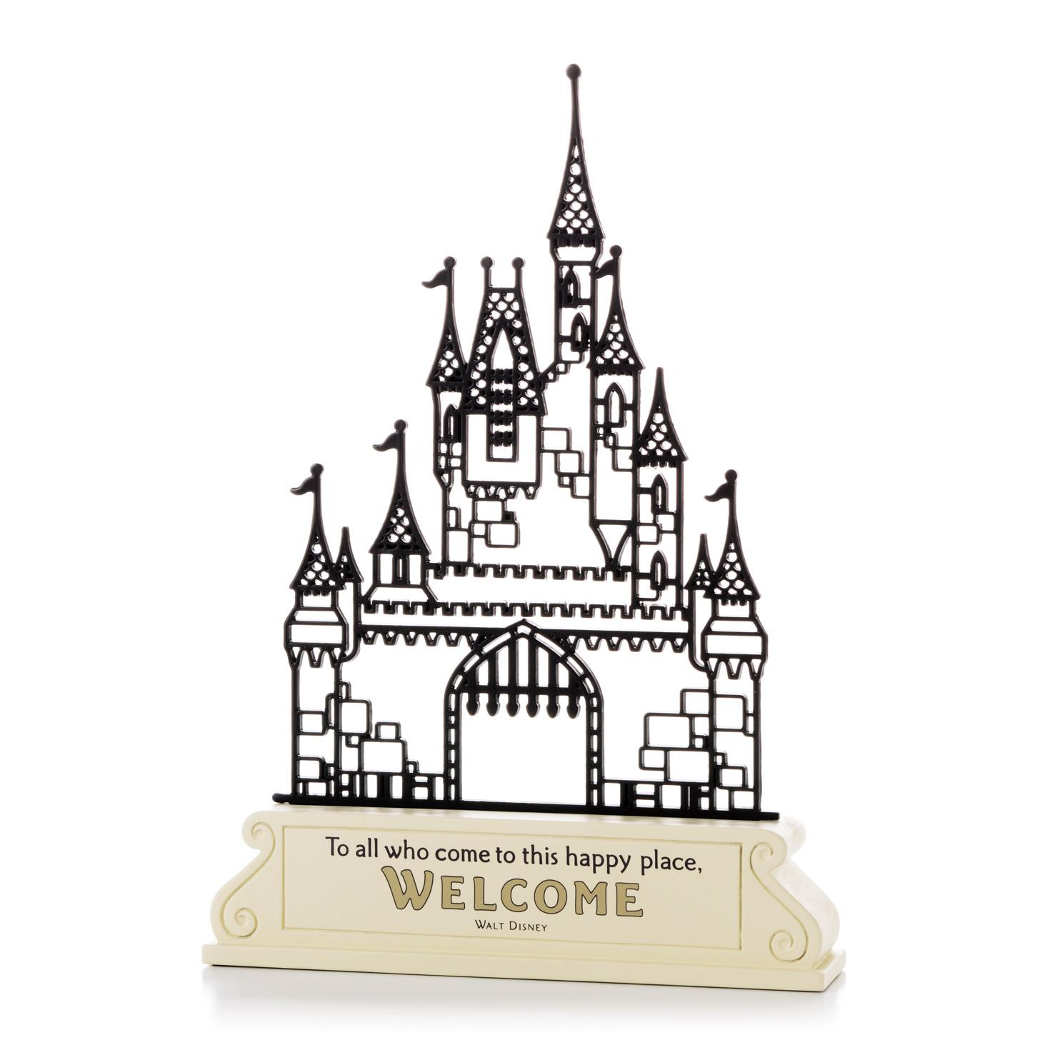 Magic kingdom castle outline clipart image black and white 78+ images about All Things Disney on Pinterest | Disney, Walt ... image black and white