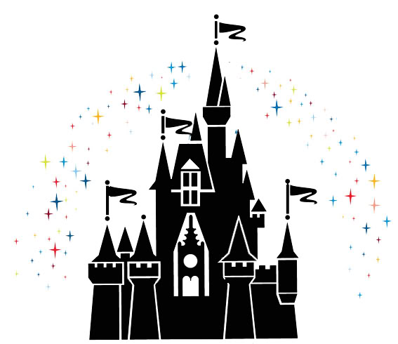 Magic kingdom castle outline clipart png stock Magic kingdom castle outline clipart - ClipartFest png stock