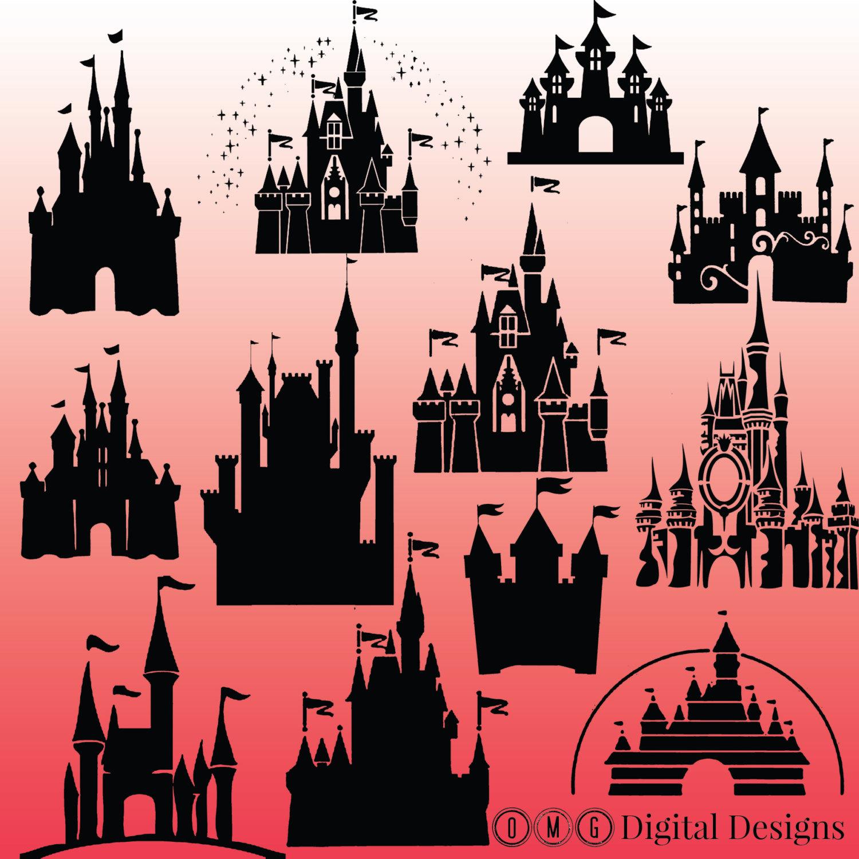 Magic kingdom castle outline clipart clipart transparent stock Cinderella castle clipart outline - ClipartFest clipart transparent stock
