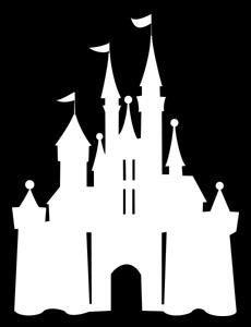 Magic kingdom castle outline clipart image stock 12 cinderella castle silhouette, cinderella castle, Clipart Images ... image stock