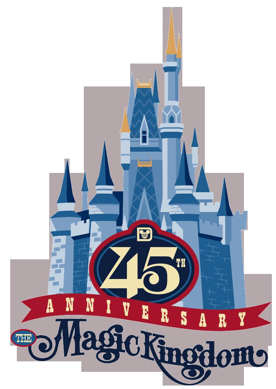 Magic kingdom clipart png stock Disney Magic Kingdom Logos Clipart png stock
