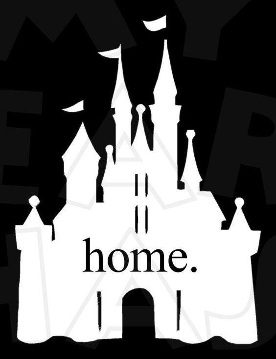 Magic kingdom clipart graphic free library Home Magic Kingdom Cinderella Castle for dark INSTANT DOWNLOAD ... graphic free library