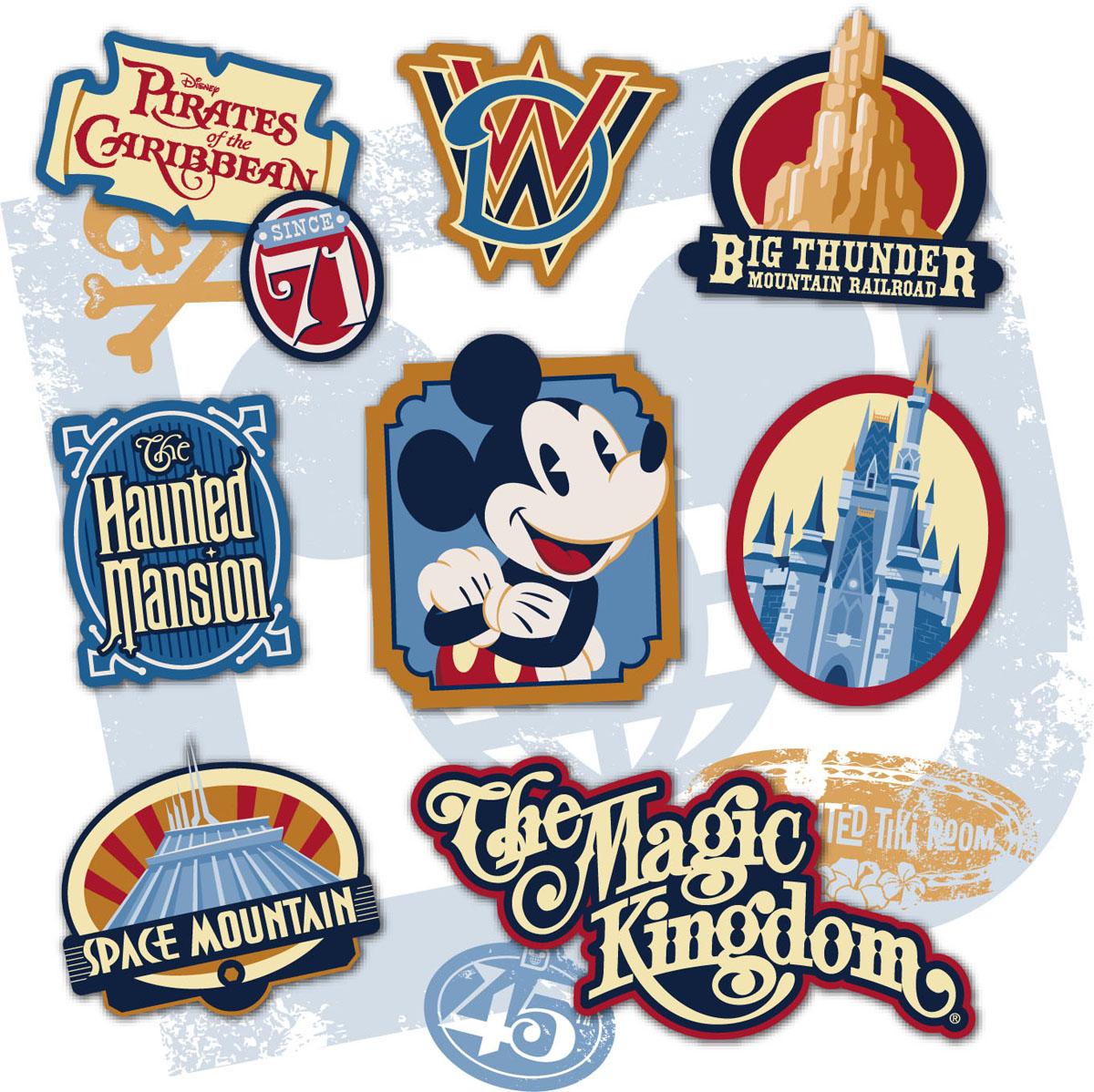 Magic kingdom disney world clipart graphic transparent library Disney World's Magic Kingdom to celebrate 45th anniversary on ... graphic transparent library