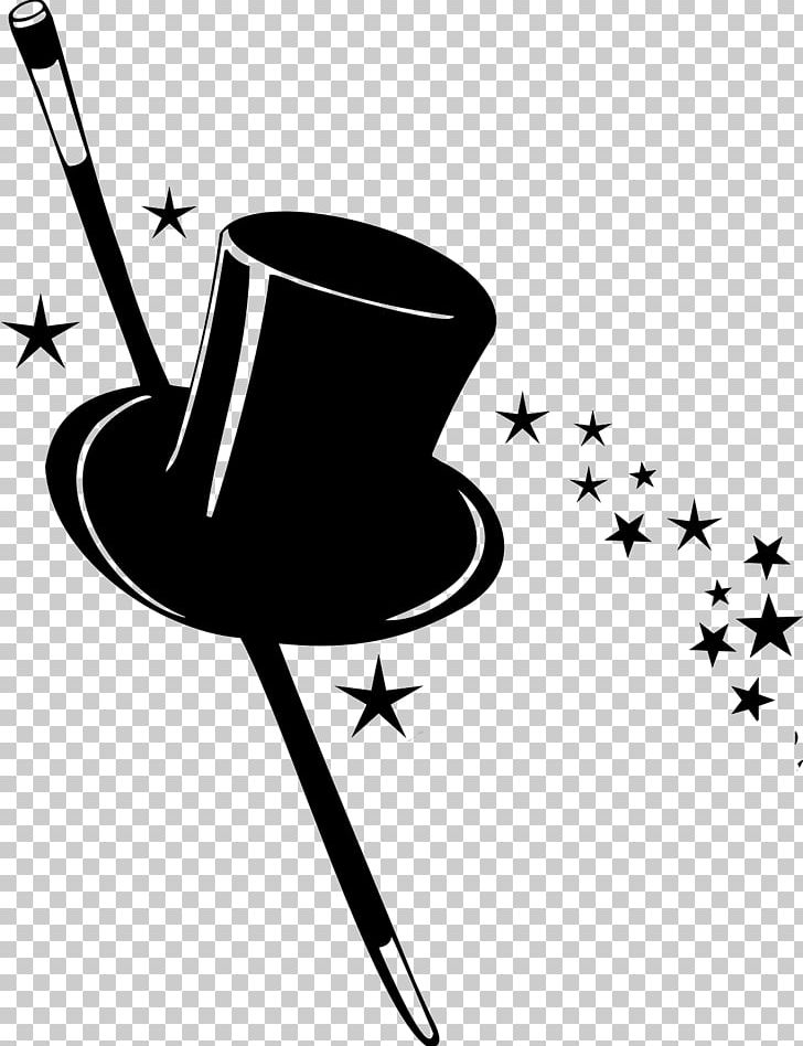 Magic top hat clipart black and white download Magic Top Hat PNG, Clipart, Art, Black And White, Card ... black and white download