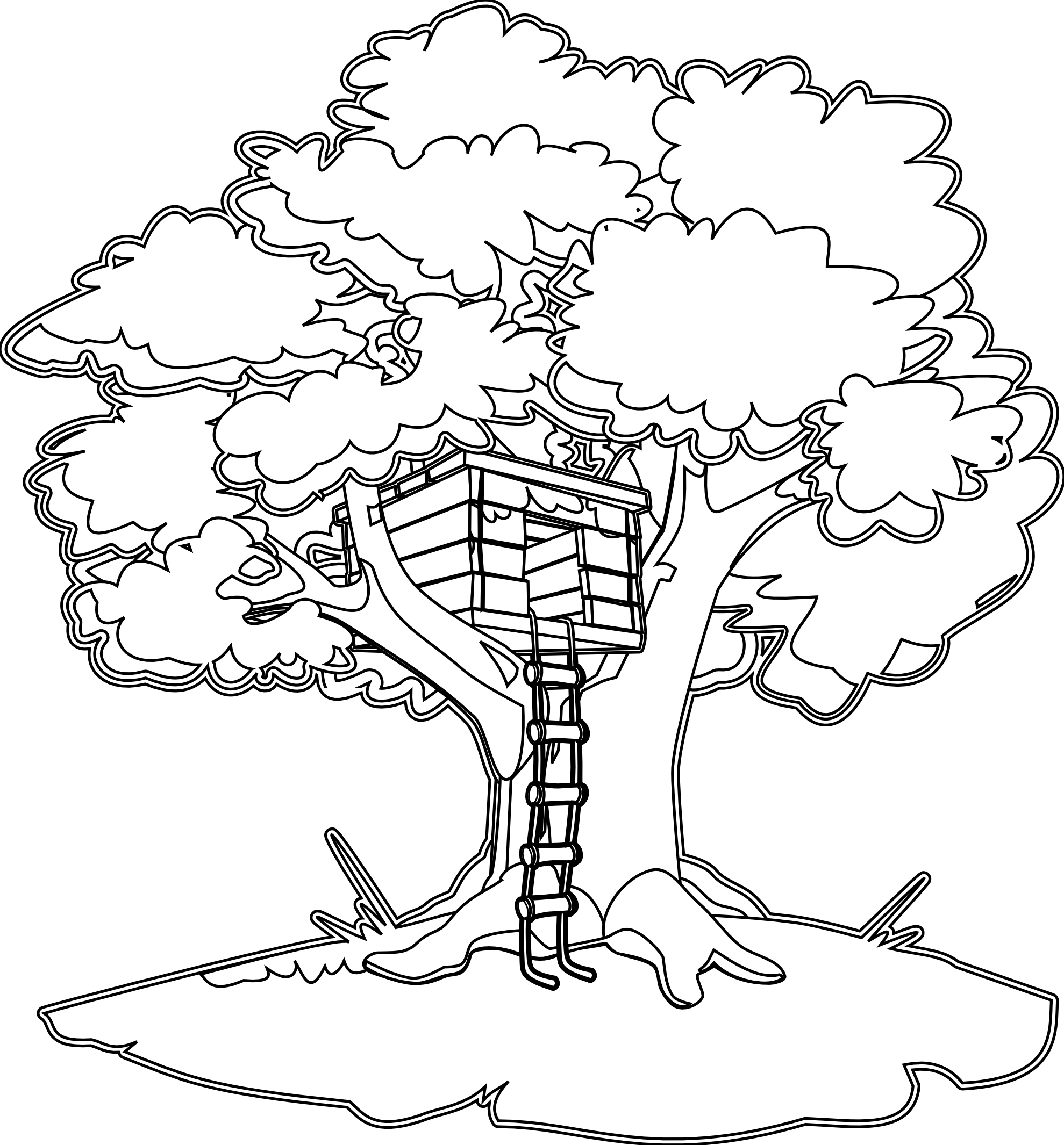 Magic tree house clipart svg freeuse library Magic Tree House Coloring Pages Free Coloring Pages Download | Xsibe ... svg freeuse library