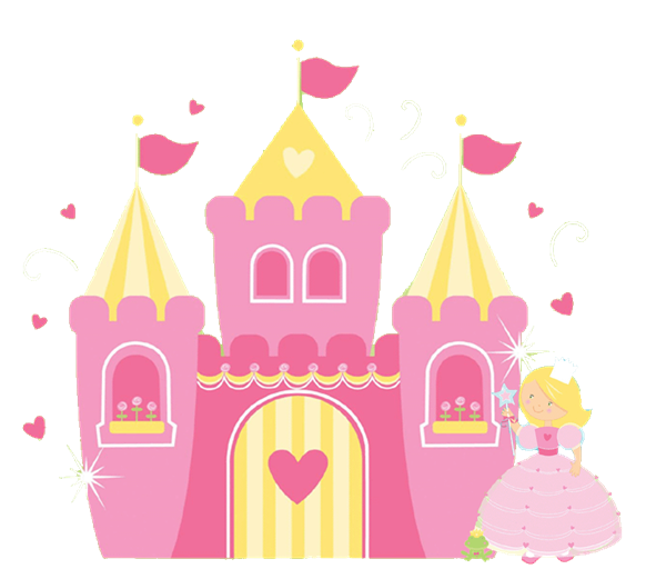 Magical book clipart picture free download Princess Castle Clipart | Princess Window Birthday Invitations ALL ... picture free download