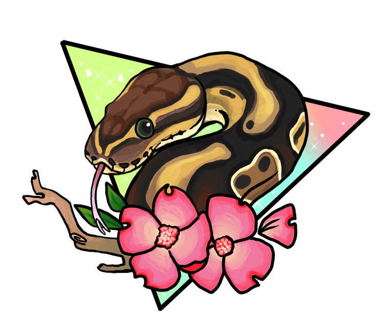 Magical tree clipart vector download Magical Ball Python by sloth-bug on DeviantArt vector download