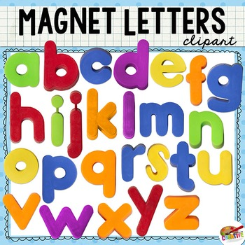 Lowercase letters clipart banner free Magnet Letter Clip Art (Lowercase Alphabet) banner free