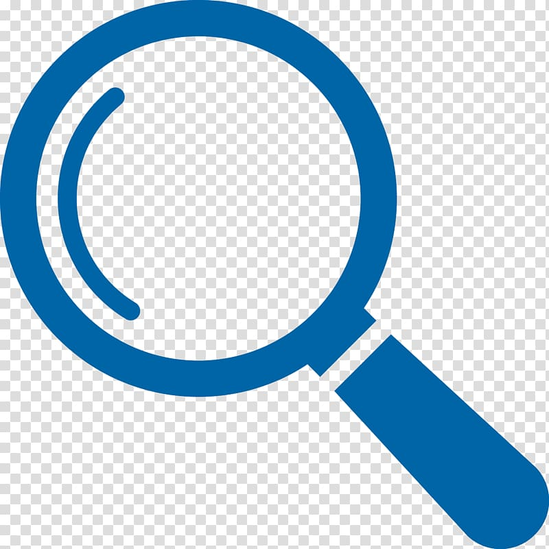 Magnifier clipart icon svg library stock Blue magnifying glass icon illustration, Magnifying glass ... svg library stock