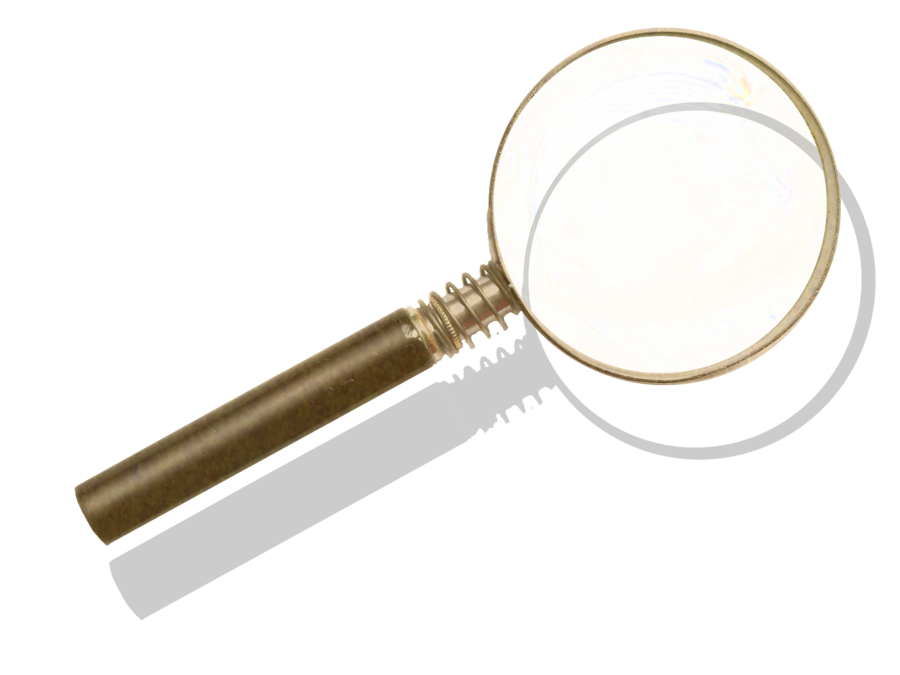 Steampunk Victorian Magnifying-glass Icon Mk7 by pendragon1966 on ... clip library stock