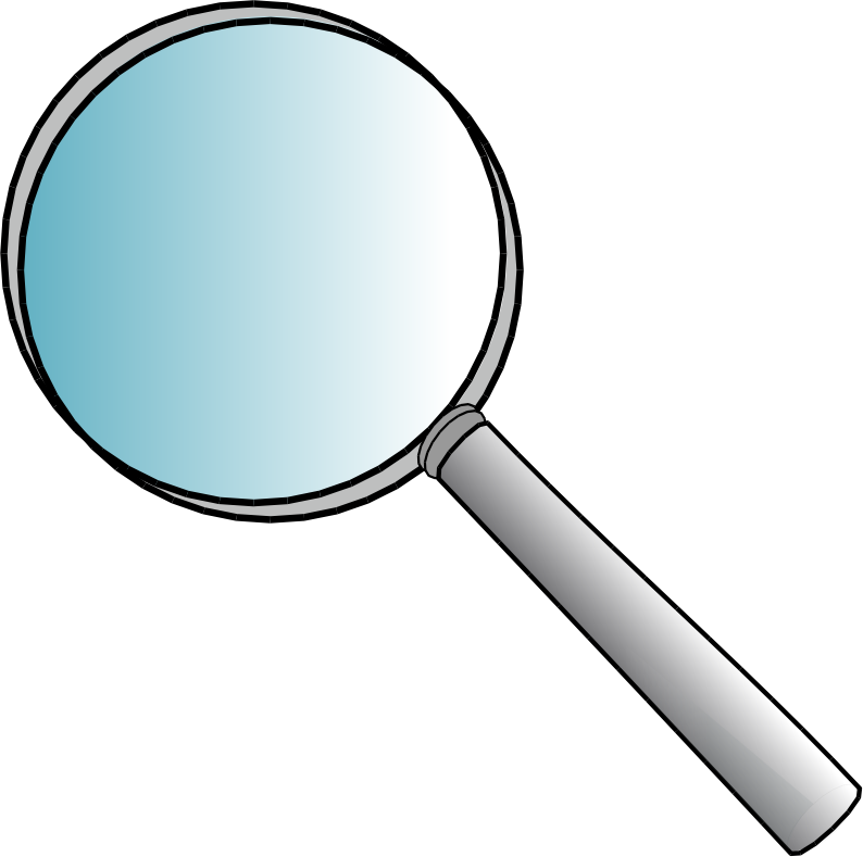 Images of Magnifying Glass Book Clipart - #SpaceHero graphic royalty free stock