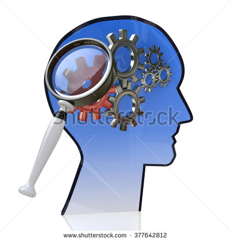 Magnifying clipart with arrow head png black and white Brainpower Stock Photos, Royalty-Free Images & Vectors - Shutterstock png black and white