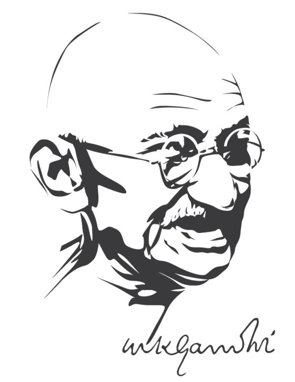 Mahatma gandhi clipart image royalty free Mahatma Gandhi by astayoga.deviantart.com on @DeviantArt ... image royalty free