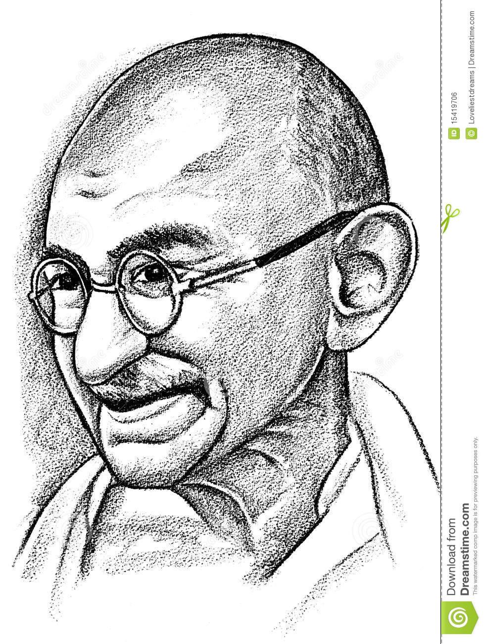 Mahatma gandhi clipart png royalty free library Mahatma Gandhi Outline Sketch Gandhi Clipart – Clipground ... png royalty free library