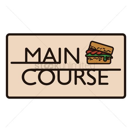 Main course clip art clipart freeuse download Free Main Course Stock Vectors | StockUnlimited clipart freeuse download