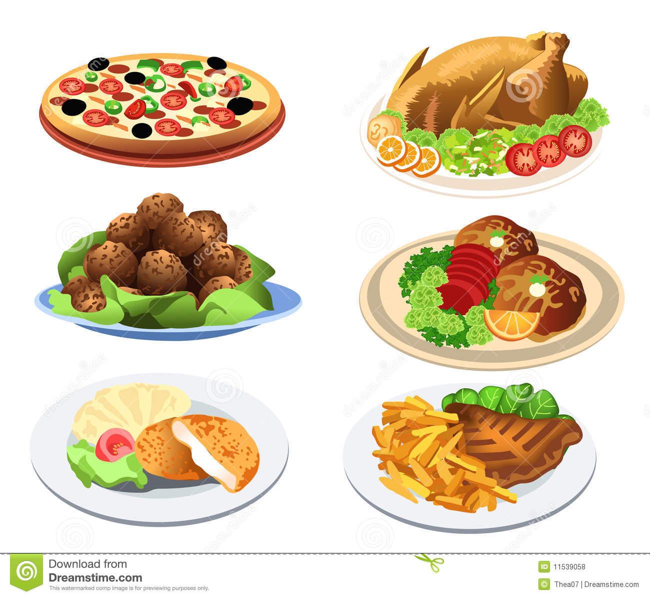 Main course clip art transparent Food dish clipart - ClipartFest transparent