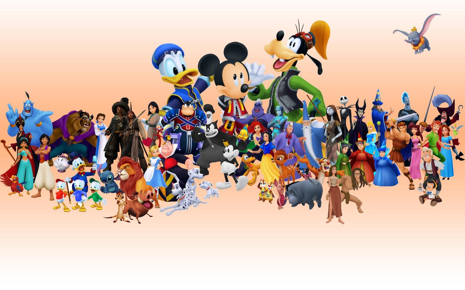 Main disney characters clipart clip art freeuse library Disney world characters clipart - ClipartFest clip art freeuse library