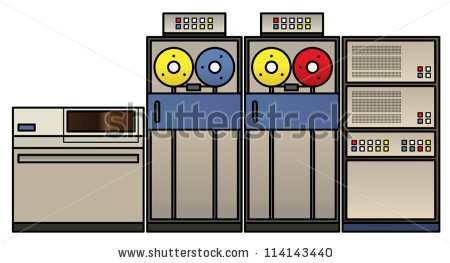Main frame computer clipart banner library download Mainframe Computer Stock Photos, Royalty-Free Images & Vectors ... banner library download