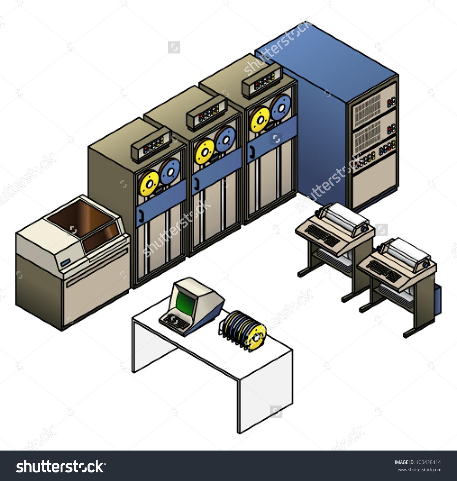 Main frame computer clipart png transparent download Free clipart mainframe tape computer - ClipartFest png transparent download