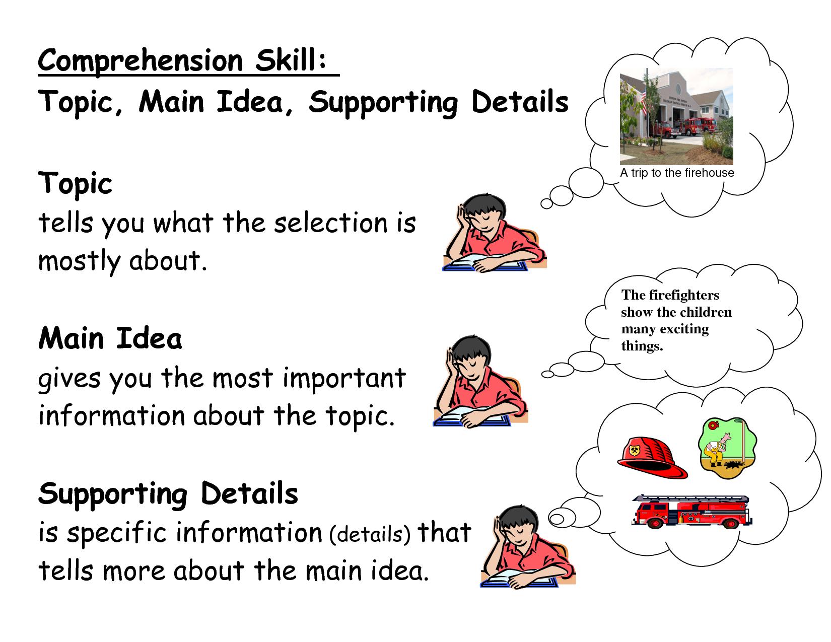 Main idea clipart svg download Main Idea - Lessons - Tes Teach svg download