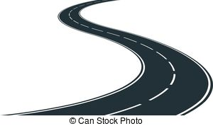 Main road clipart clip library Road track clipart - ClipartFest clip library