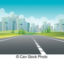 Main road clipart picture black and white Main road clipart - ClipartFest picture black and white