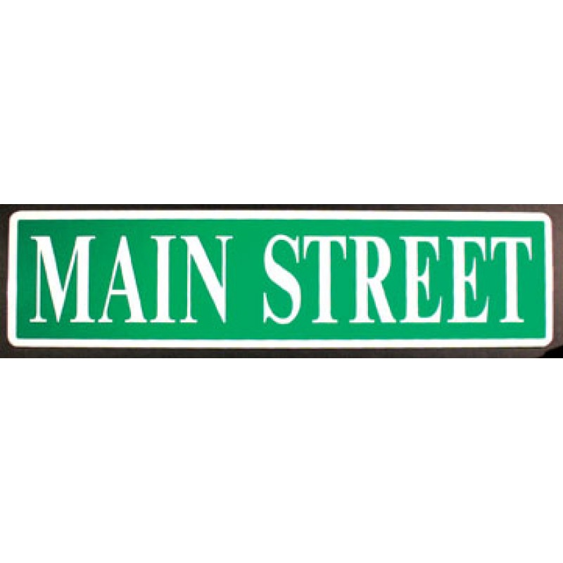 Main street clipart clipart free stock Main Street Sign Clipart - Clipart Kid clipart free stock