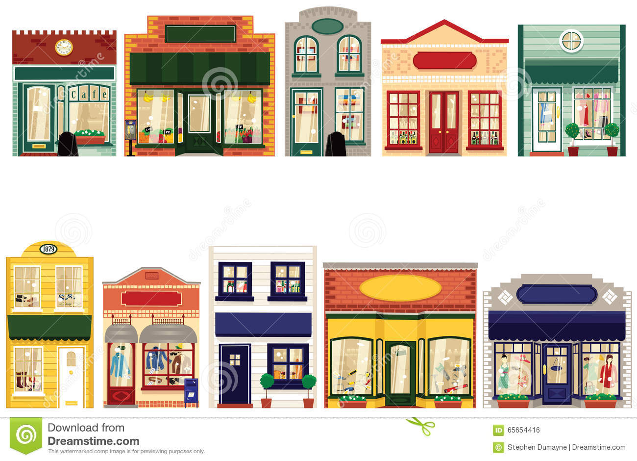Main street clipart png transparent library Small Town Main Street 10 Stock Photos - Image: 17282023 png transparent library