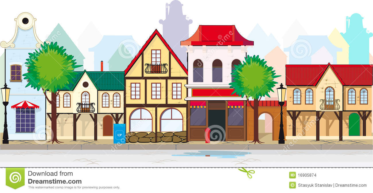 Main street clipart png black and white library Main street clipart - ClipartFest png black and white library