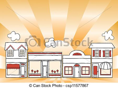 Main street clipart graphic free stock Street Clip Art and Stock Illustrations. 127,998 Street EPS ... graphic free stock