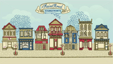Main street clipart clip royalty free download Main street clipart - ClipartFest clip royalty free download