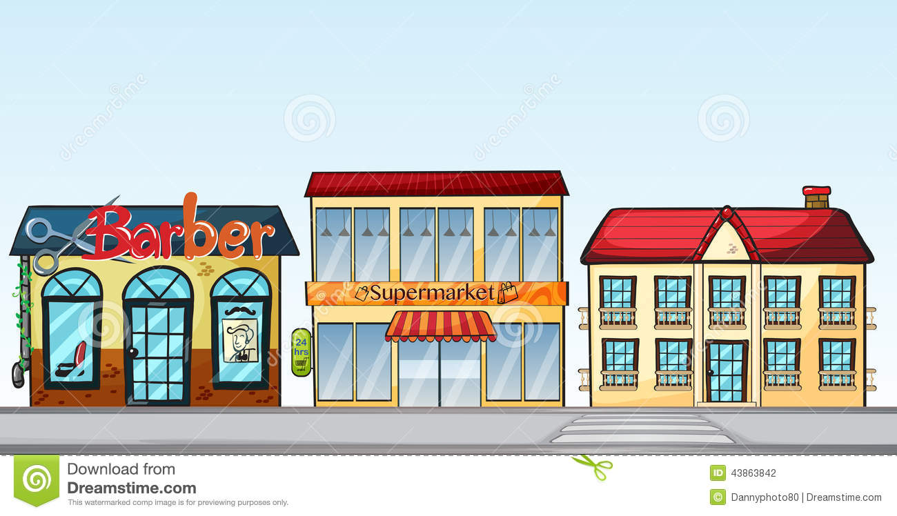 Main street clipart clipart black and white Main Street Clip Art – Clipart Free Download clipart black and white