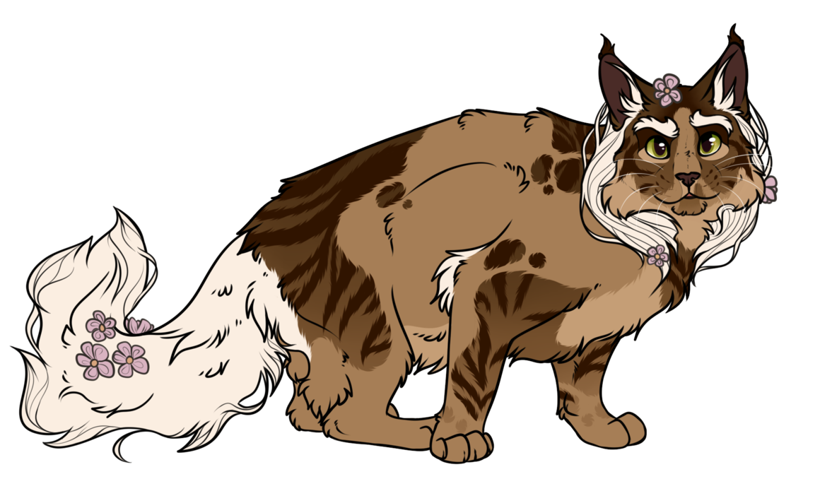 Maine coon cat wears crown cartoon clipart picture free library Quick Commissions [OPEN] by TheCatsPupil on DeviantArt picture free library