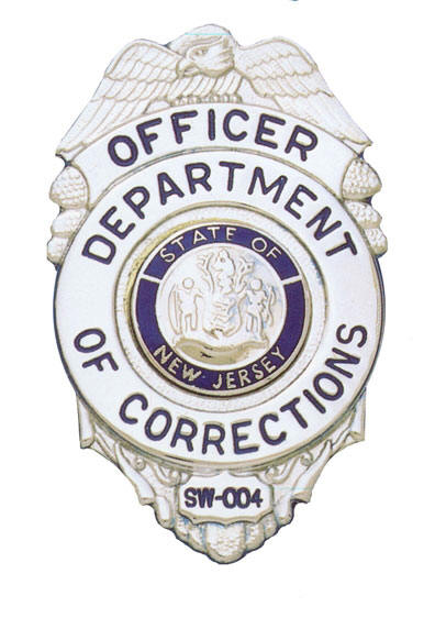 Maine probation parole officer badge clipart black and white graphic black and white library New Jersey Department of Corrections - Wikipedia graphic black and white library