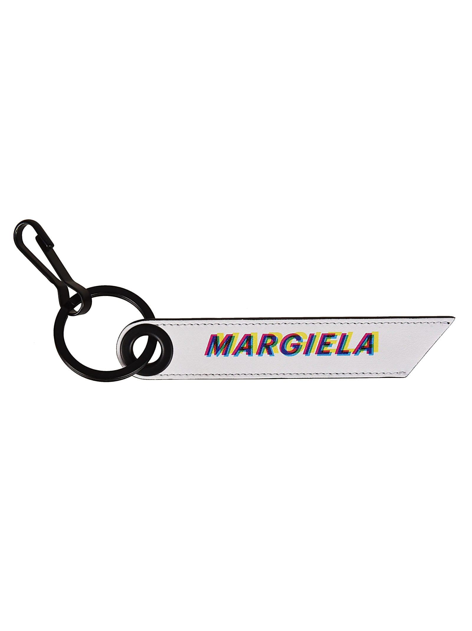 Maison margiela logo clipart image royalty free library Maison Margiela Maison Margiela Logo Keyring - White ... image royalty free library