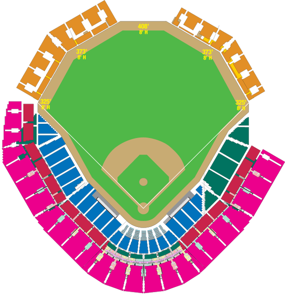 Major league baseball stadium clipart png free Peralta – The Skinny Jeans of Oakland Ballpark Sites – newballpark.org png free