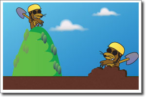 Make a mountain out of a mole hill clipart clip art Idiómy | Angličtina online – TopEnglish.sk clip art