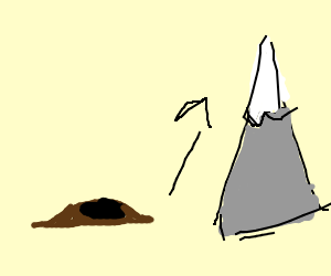 Make a mountain out of a mole hill clipart svg free download Dont make a mountain out of a mole hill - Drawception svg free download