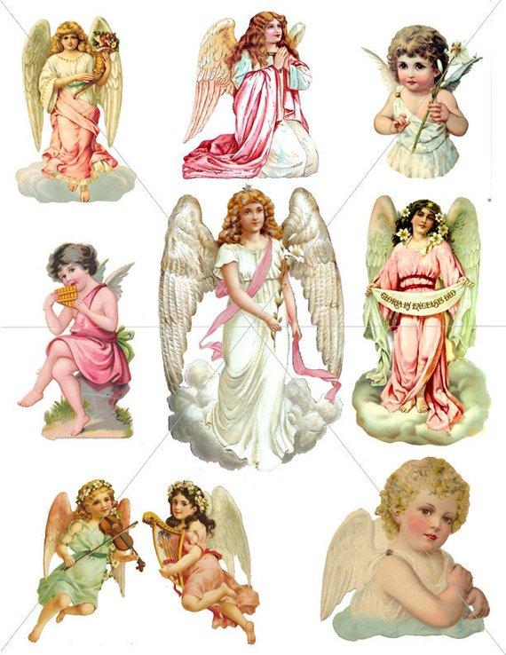 Make clipart into pdf image transparent download Angels, Digital Clipart Images, Angel Graphics, Printable ... image transparent download