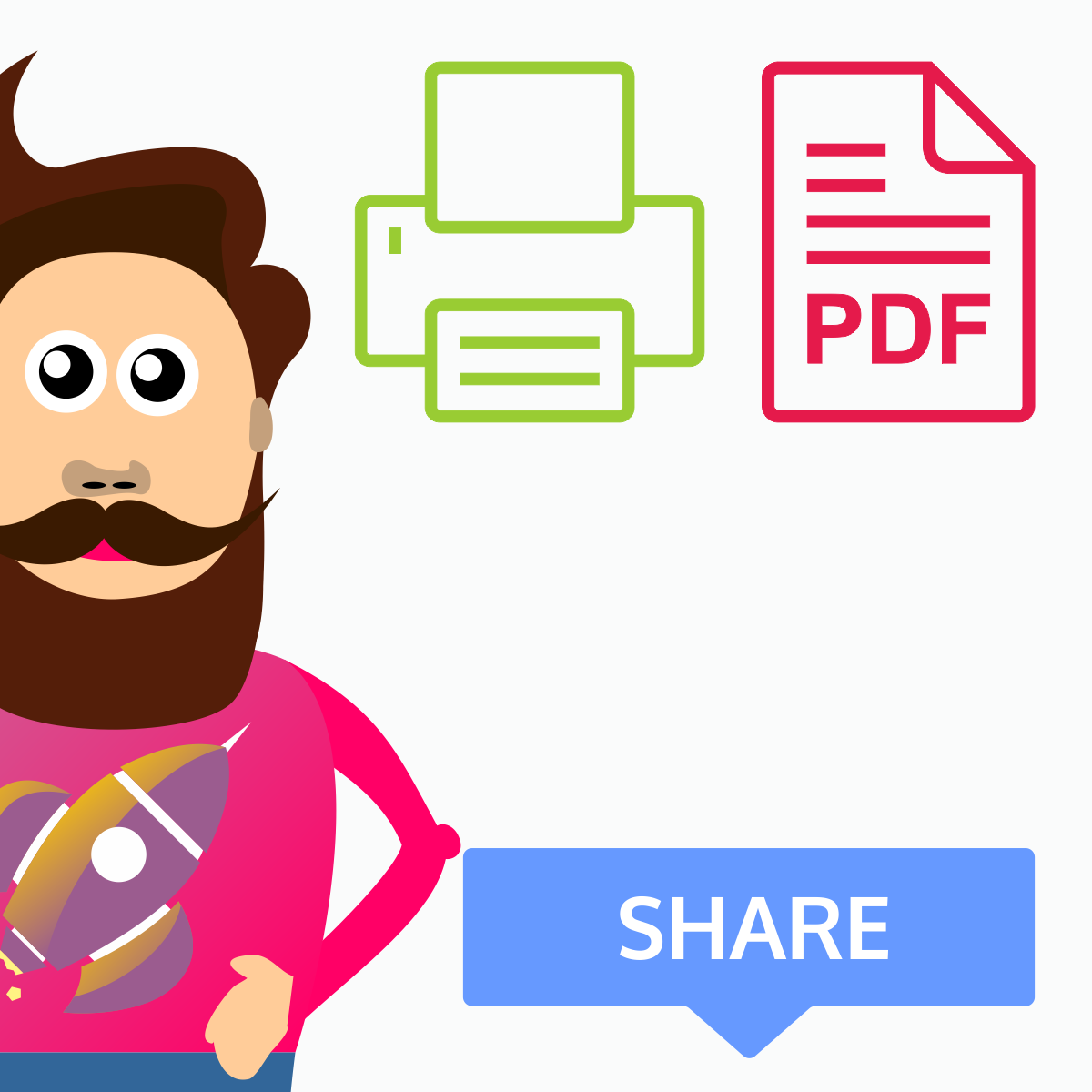 Make clipart into pdf jpg freeuse stock Share, Print and PDF Products for WooCommerce jpg freeuse stock