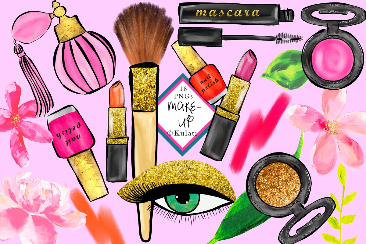 Make up clipart clipart royalty free download Makeup Clipart / Graphics clipart royalty free download