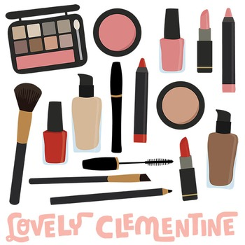 Make up clipart vector transparent Makeup Clip Art Images Clipart Vector By Lovely Better Make ... vector transparent