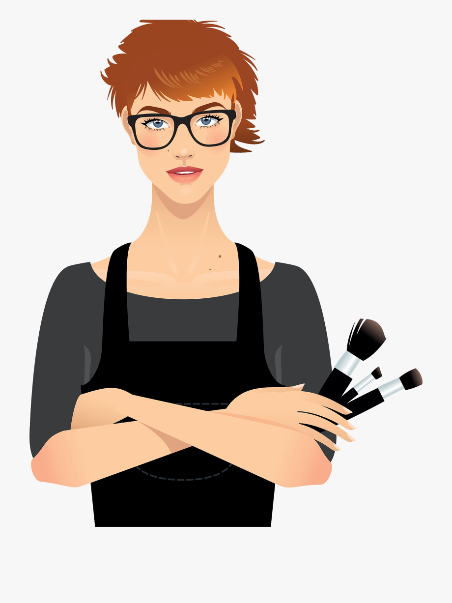 Makeup artist clipart picture library download Make Up Artist Cosmetics Beauty Parlour Clip Ⓒ - Makeup ... picture library download