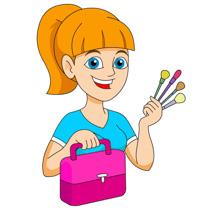 Makeup artist clipart png Clipart makeup artist - Clip Art Library png