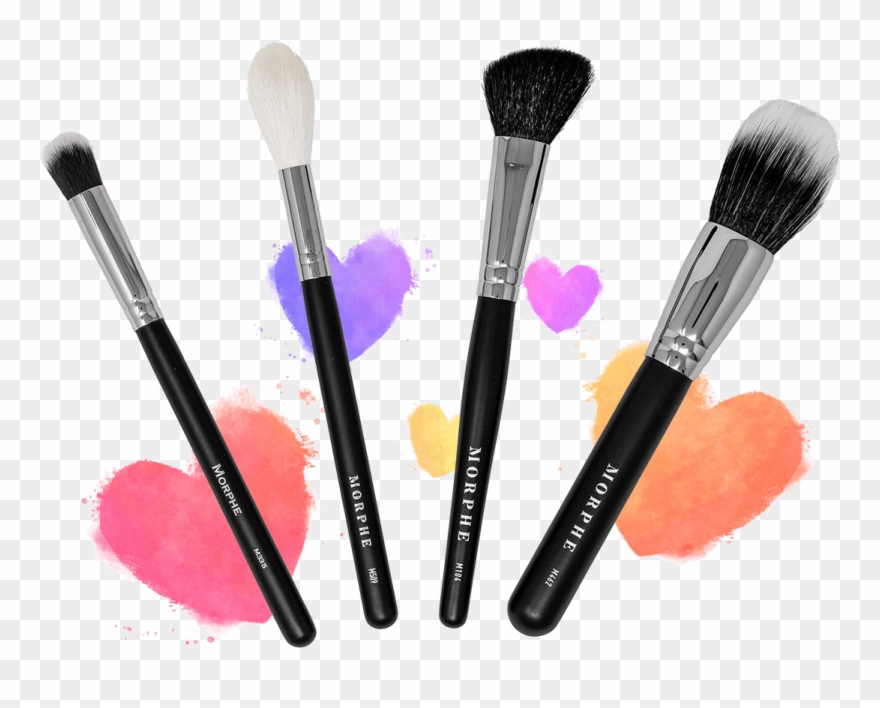 Makeup brush clipart png graphic royalty free stock February Brushes - Makeup Brushes Hd Png Clipart (#4081595 ... graphic royalty free stock