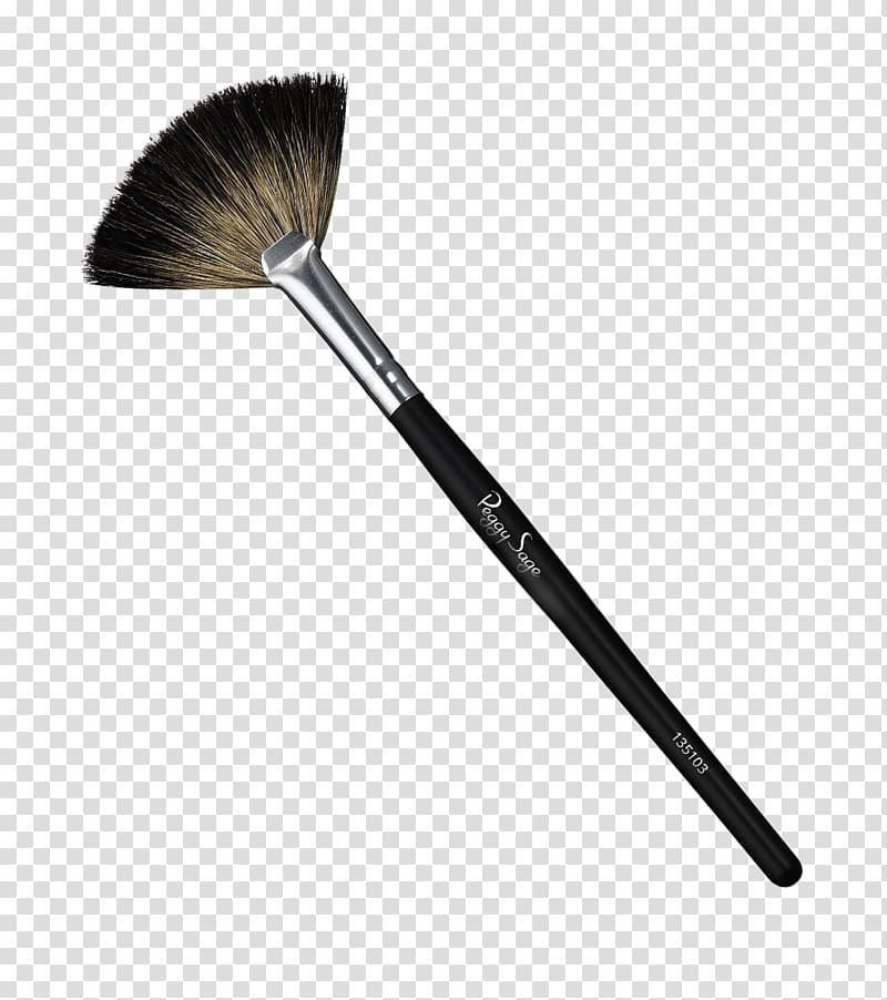 Makeup brush clipart png image royalty free library Paintbrush Cosmetics Makeup brush Face Powder, fan ... image royalty free library